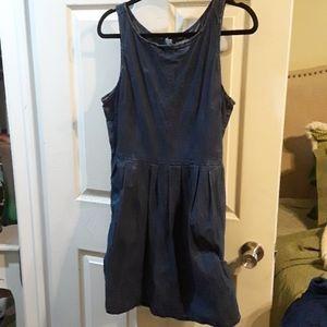 💙Super Summer Jean Dress W/pockets